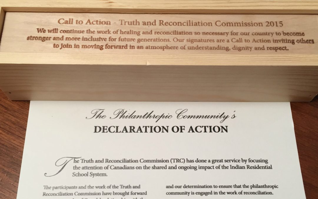 CFKA Signs the Philanthropic Community's Declaration of Action