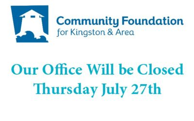 Office Closed Thurs. July 27th