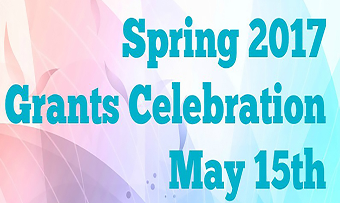 Don't miss our Spring 2017 Community Grants Celebration on May 15th!