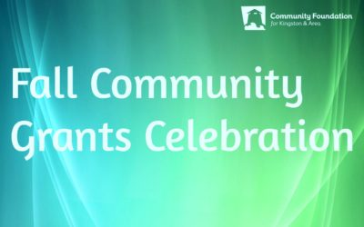 Fall 2017 Community Grants Awarded: 15 Grants Totaling Over $150K