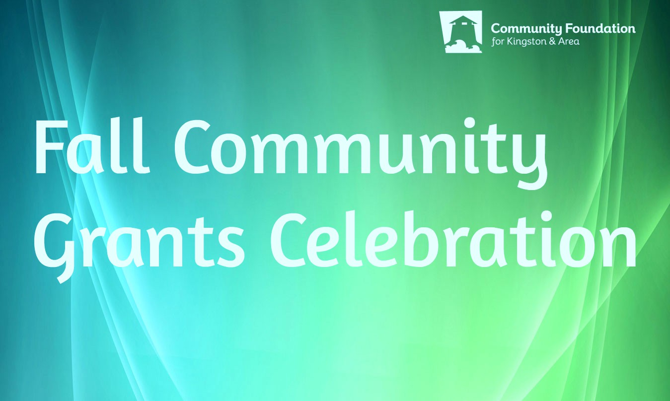 Don't Miss our Fall 2018 Community Grants Celebration on December 12!