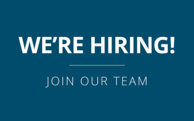 We're Hiring – Administrative Coordinator