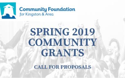 Spring 2019 Community Grants