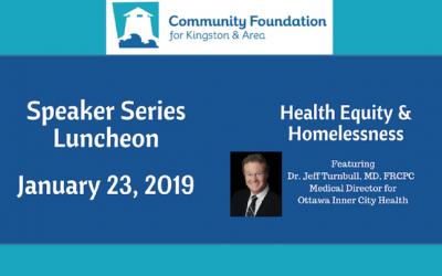 Speaker Series Luncheon January 23, 2019