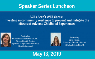ACEs Aren't Wild Cards: Investing in community resilience to prevent and mitigate the effects of Adverse Childhood Experiences